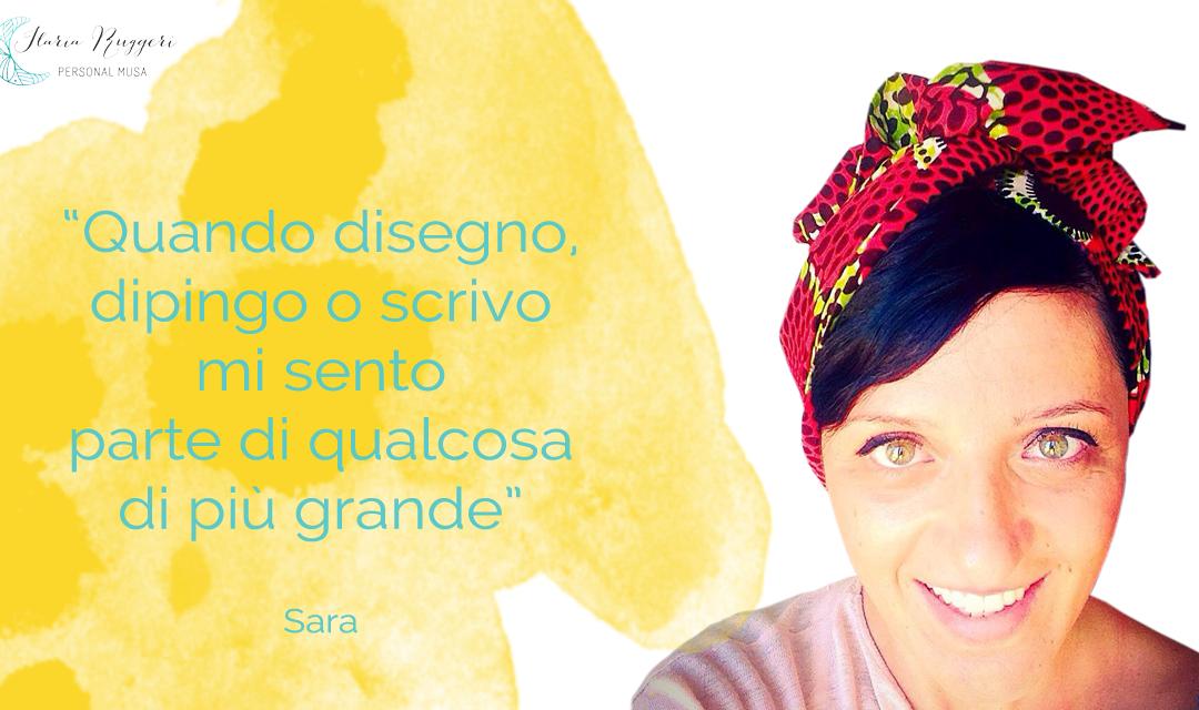 SARA E LA FORZA DELLA CREATIVITÀ