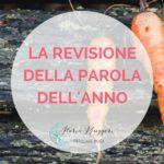 LA REVISIONE DELLA PAROLA DELL'ANNO