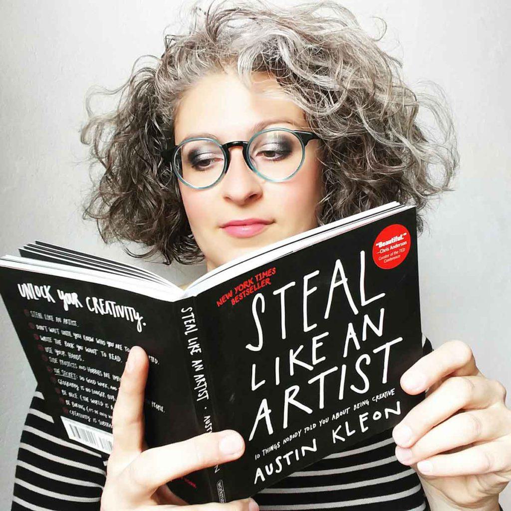 RUBA COME UN'ARTISTA di Austin Kleon - © Ilaria Ruggeri