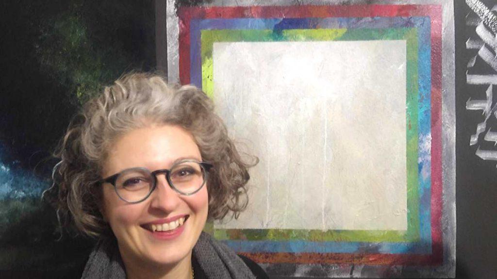Circolo quadro vernissage Mysteria - Ilaria Ruggeri